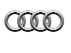 Audi gray logo alyum. d56,5 mm