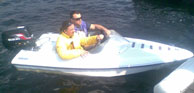 """Motor boat """"DIXIE"""