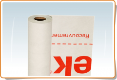 Superdiffusive membrane of TYVEK HOUSEWRAP, for