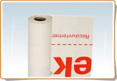 Superdiffusive membrane of TYVEK HOUSEWRAP, for