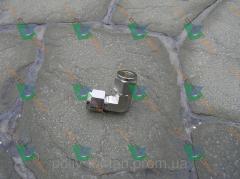 L-образный фитинг для трубы никелированная медь
