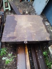Cover on a cellar, a hole