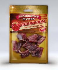Air-dried meat (Biltong) Beef