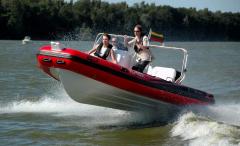 Inflatable autoboat RIB Adventure Vesta V-650