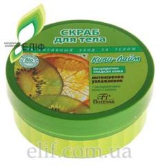 """Body scrub """"Kiwi and lime"""