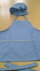 Apron children's with cap