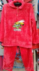 Female terry pajamas batat the Code: 1403