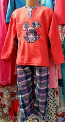 Pajamas children's fleece Code: 0004