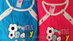 Набор женский халат и ночная рубашка в роддом Код: