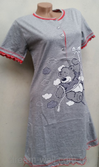 Night dress female bear Code: 0016