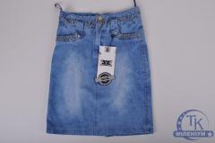 Юбка для девочки джинсовая FORS KIDS 3148