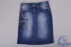 Юбка для девочки джинсовая FORS KIDS F-2442