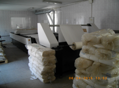 Fabrics for rubber products and production of