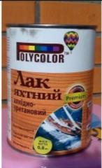 Varnish of yacht alkidno-uretanovy 0,8 kg