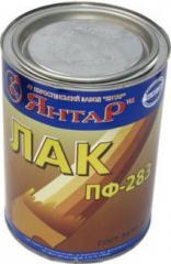 Varnish Yantar of PF-283 0,9 kg
