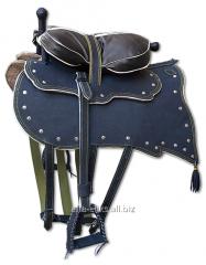 Saddle Cossack leather code 981