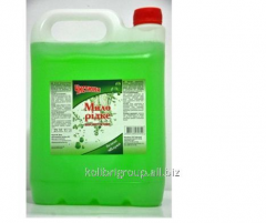 Liquid detergent for washing