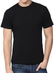 T-shirt man's K-01001, black, cooler,