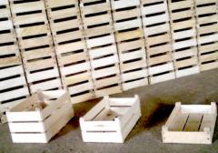 Boxes wooden of the interline interval for expor
