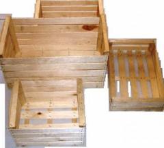 Container wooden (interline interval)