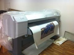 Широкоформатный принтер (экосольвентный плоттер)