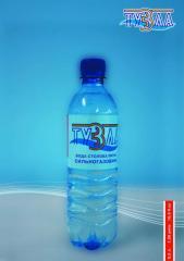 Вода столовая питьевая сильногазированная