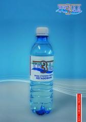 Вода столовая питьвая негазированная,ТМ `Тузла`
