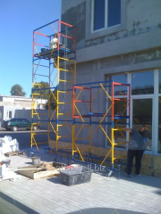 Mobile collapsible tower 2,0 X 2,0 m (7+1)