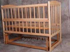"""A simple cot swivelling """"НЯШКА"""","""