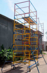 Mobile collapsible tower 2,0 X 2,0 m (11+1)