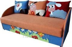 Детский диван с тремя подушками Мульти 1