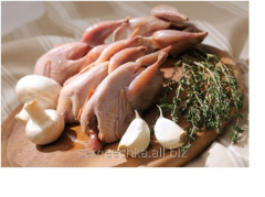 Quail carcasses (chilled)