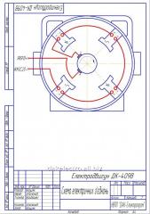 Електродвигуни постійного струму типу ДК-409  для