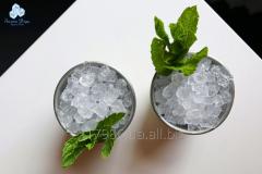 Shredded ice