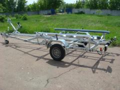 Boat Tiki BT 1000 BBP trailer