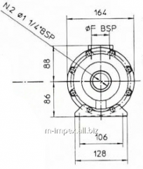 Water Emmegi oil cooler MG131 series