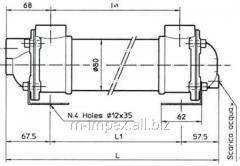 Water Emmegi oil cooler MG80 series