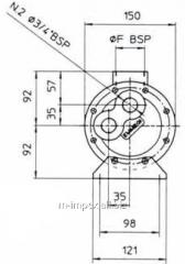 Water Emmegi oil cooler MGB114 series