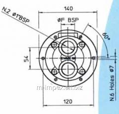 Water Emmegi oil cooler MGF80 series
