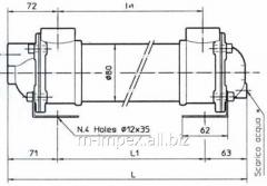 Water oil cooler Emmegi MG81 series