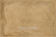Stone socle Gorgona