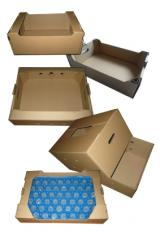 Gofrotara, boxes from a cardboard, gofroyashchik