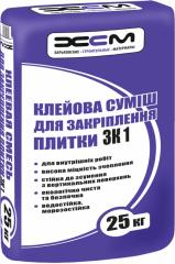 Glue for ZK1 tile