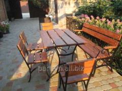 Стулья и столы для сада и дачи