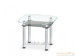 Стеклянный обеденный стол Rondo mini C-G