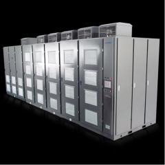 High-voltage converter of the frequency of 6 kV,