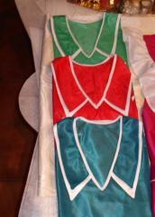 The apron is nylon