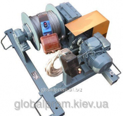 Winch electric LECh-0,3-200 (200 meters)