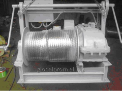 Universal mounting winches of UL-1,5, UL-3, UL-5A