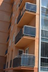 Ограждения балконов,лестниц,входных групп металлические